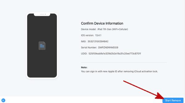 完成Apple ID移除