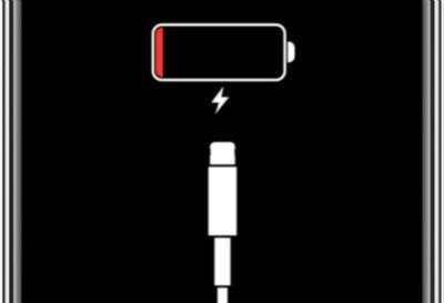 iphone充電畫面