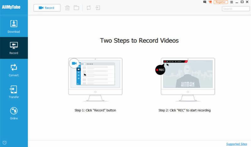 安裝和運行螢幕錄影軟體