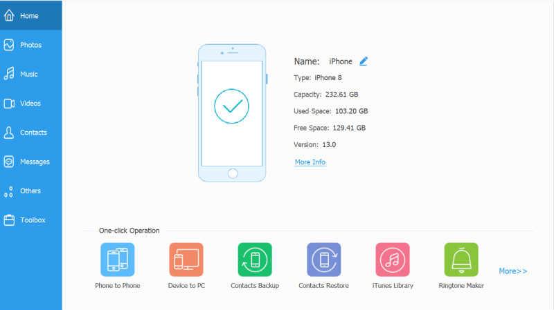 安裝iPhone影片轉移工具